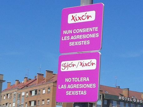 Señales asturianu Xixón