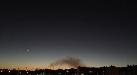 El Gobiernu caltién namái en Xixón el nivel d'avisu por contaminación del aire