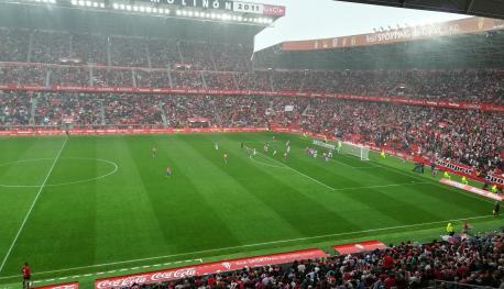 Sporting 1-1 Uviéu (9 de setiembre del 2017)