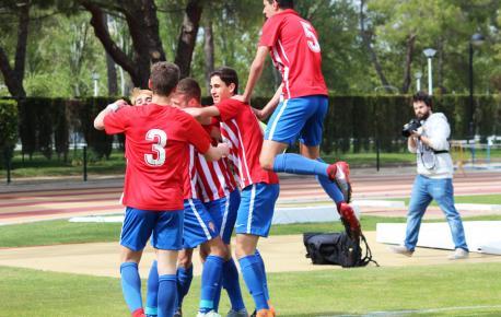 El Sporting valta al Barcelona y va disputar el títulu xuvenil col Atlético