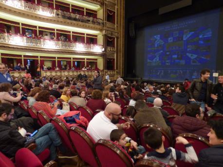 Teatru Campoamor nel XL Día de les Lletres Asturianes