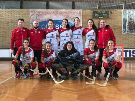 Un renováu Telecable Xixón abre una OK Lliga femenina con dos equipos asturianos