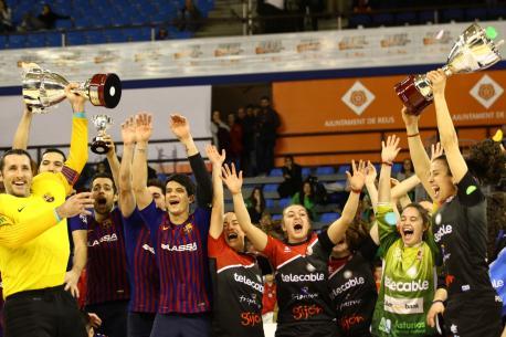El Telecable consigue en Reus la so cuarta Copa