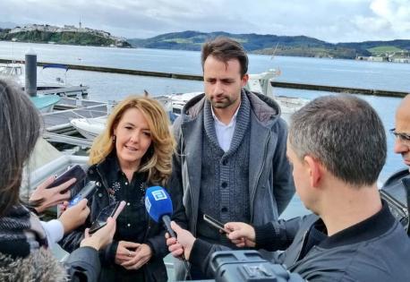 Teresa Mallada y Álvaro Queipo