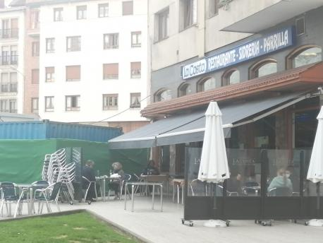 Terraza hostelería Xixón