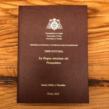 Tesis doctoral 'La llingua asturiana nel Franquismu' d'Inaciu Galán