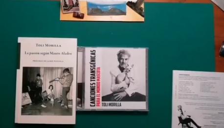 Toli Morilla discu y llibru