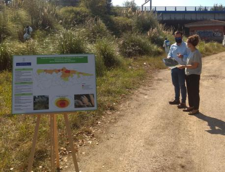 Trabayos tercer fase plan plumeru de La Pampa na AS-II