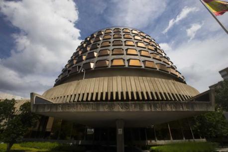Tribunal Constitucional entrada