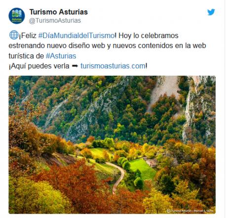 Tuit Turismu Asturies diseñu nuevu.