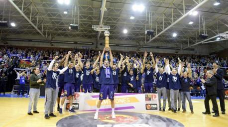 Unión Financiera Baloncesto Oviedo campeón Copa Princesta 16-17