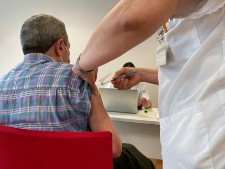 Vacunación con Janssen