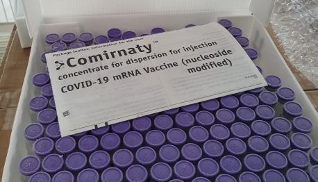 Viales vacuna Comirnaty de Pfizer