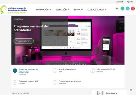 Web nueva del Adolfo Posada