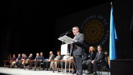 Xosé Antón González Riaño discursu institucional del XL Día de les Lletres Asturianes