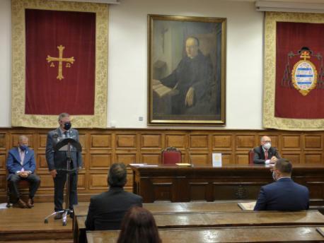 Xosé Antón González Riaño na XLI Día de les Lletres Asturianes
