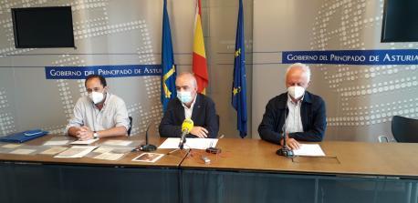 Xulio Viejo, Antón García y Joaquín Lorences Proyectu Fernán-Coronas