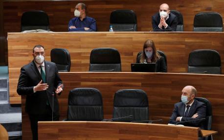 Adrián Barbón Plenu Xunta Xeneral