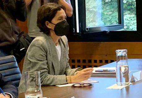 Dolores Carcedo negociación reforma del Estatutu