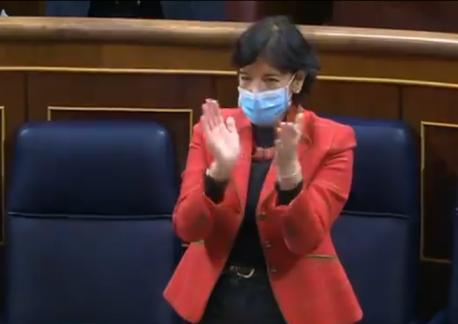 Isabel Celaá aprobación Congresu LOMLOE