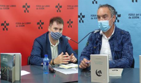 José Ángel Gayol y Paco Álvarez presentaciones Premios Lliterarios